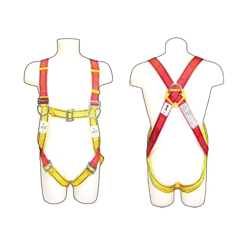 how to wear a harness